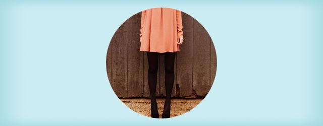 秋冬の楽可愛コーデ!「ワンピ&タイツ」のオシャレな着こなし
