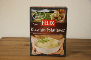 FELIXの乾燥マッシュポテト