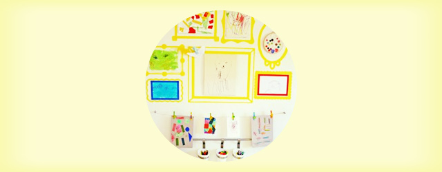 how_to_display_kids_art