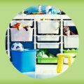 IKEAのおもちゃ収納「TROFAST」の使用実例&アイデア集