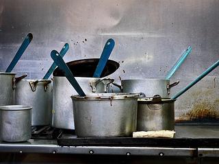 使わない鍋や古い調理器具は金運低下