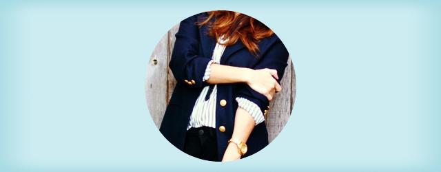 紺ブレザー・ジャケットのの着こなし・コーディネート