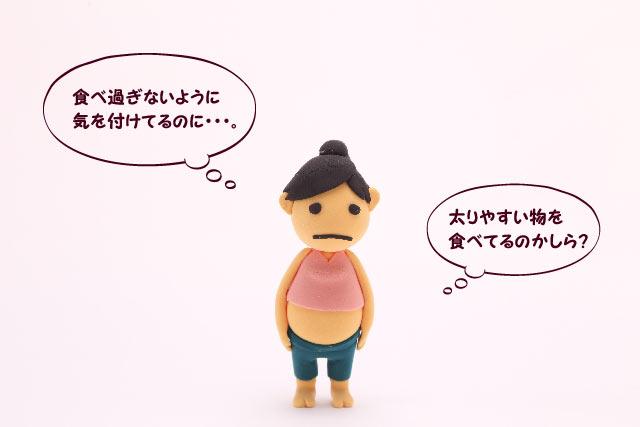 「肥満」の原因