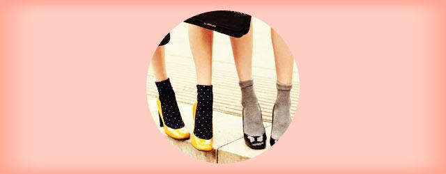 秋冬コーデは「靴下・ソックス」で着こなしにアクセントを!