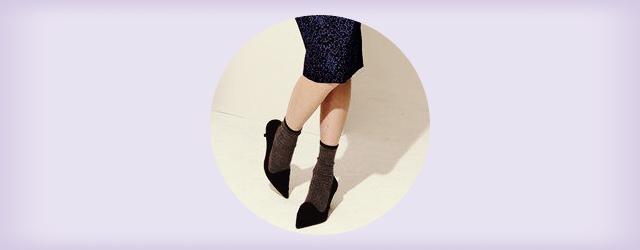 大人可愛い靴下&ソックスの春夏コーデ・着こなし